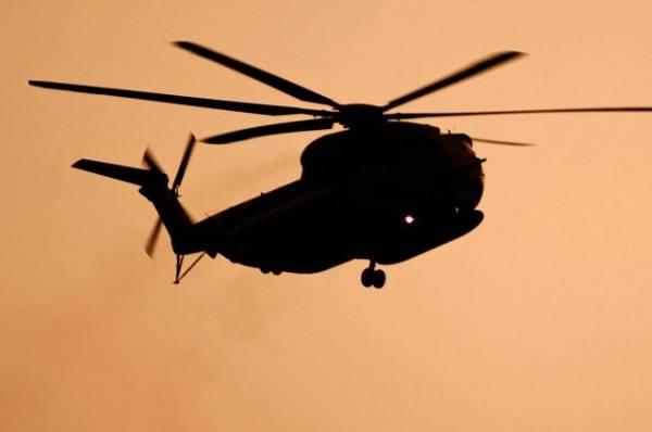 Вертолет ВМС Австралии потерпел крушение в Филиппинском море
